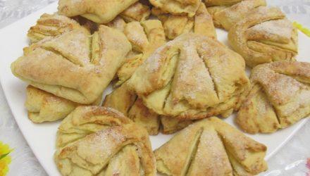 Вкусное твороженное печенье