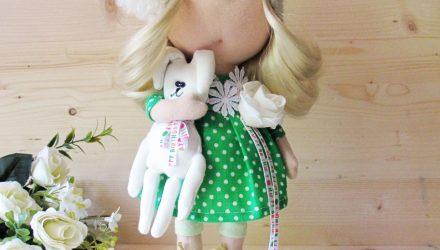 Еще 2 куколки и семейство зайцев