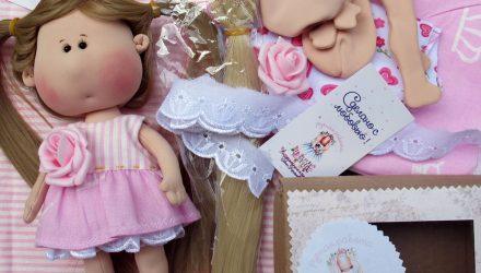 Набор по интерьерно-игровой куколке Розочка