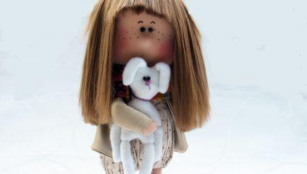 Выкройка куколки Элеонора
